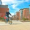 Campus Bike Ride B-Roll