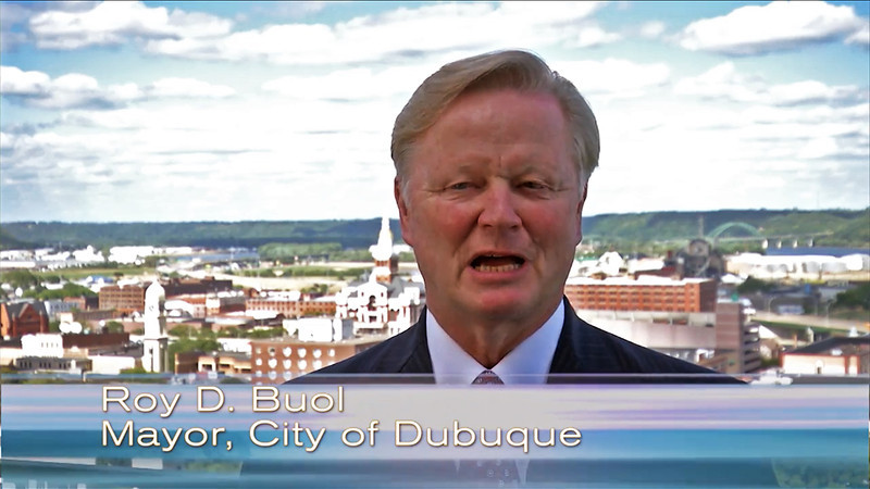 Dubuque Convention and Visitor's Bureau promotion