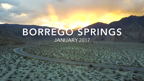 Borrego Springs - January 2017