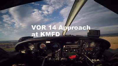VOR 14 Approach at KMFD
