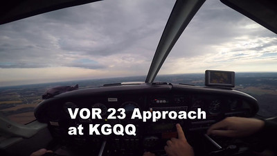 VOR Approach at KGQQ Galion Ohio