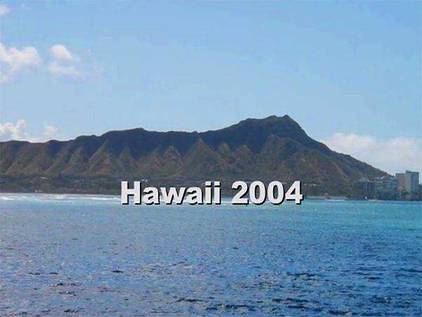 Oahu, Hawaii / August 2004