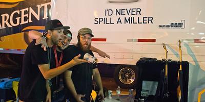 I'd never spill a Miller!