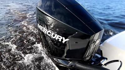 Mercury V-6 FourStroke  lighter than ever
