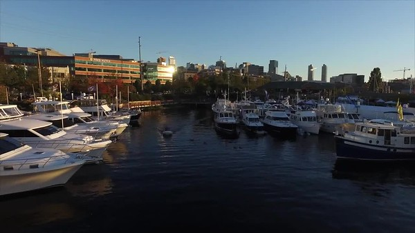 Ocean Alexander at 2016 Seattle Boats Afloat Show