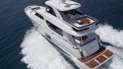 2016 Ocean Alexander 70e Motor Yacht Running Video