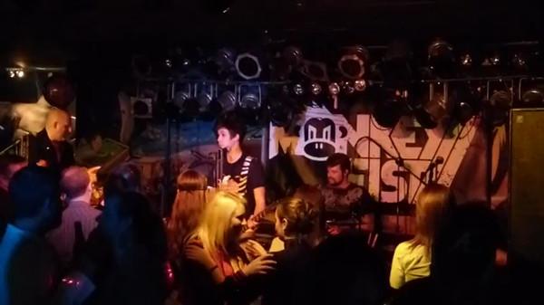 Monkey Fist ~ Sharkys ~ Feb 9,2013 ~ V1