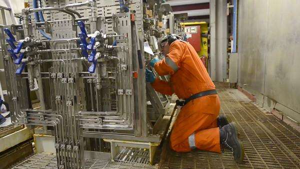 Oljearbeider - Instrument rørlegger