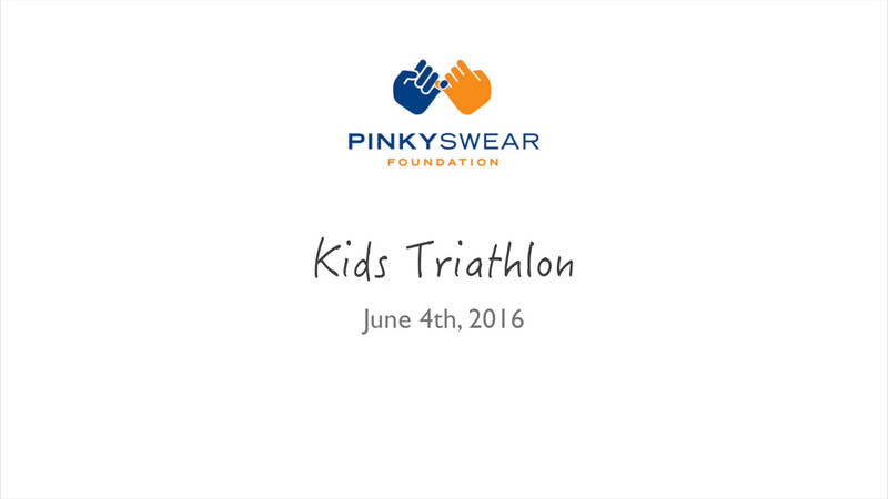 PinkySwear Kids Triathlon