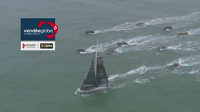 Boris Herrmann and Seaexplorer / Yacht Club de Monaco - Vendée Globe finish