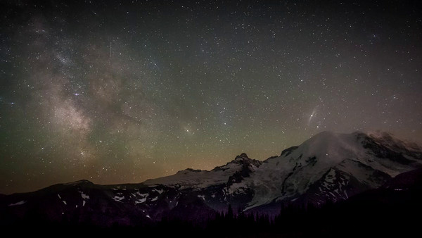 Mt Rainier Time Lapse