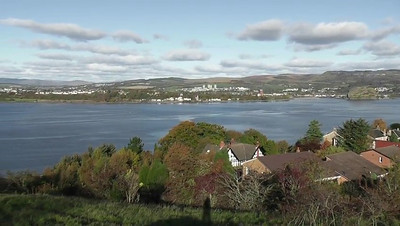 View from Langbank Hillside Over the Clyde