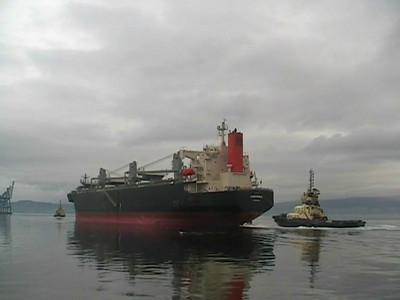 Anemona - Bulk Carrier - Departs