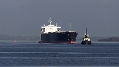 'Taio Frontier' Passing Port Glasgow