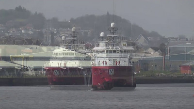 Vos Pathfinder - Arriving in Greenock