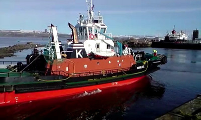 Kindeace Returns to Harbour