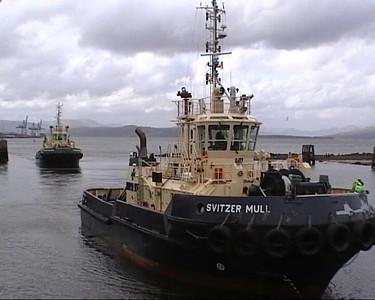 Tugs Return to Base