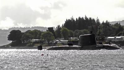 (HMS) Ambush - First Arrival to Faslane Naval Base