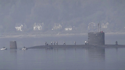 Submarine Training in Loch Long