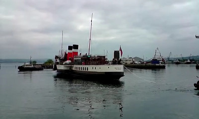 Canting before entering the James Watt Dock