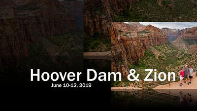 June 2019 - Hoover Dam & Zion