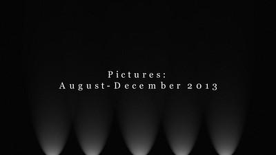 August - December 2013
