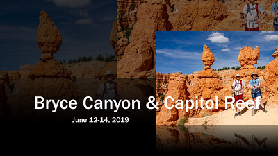 June 2019 - Bryce & Capitol Reef