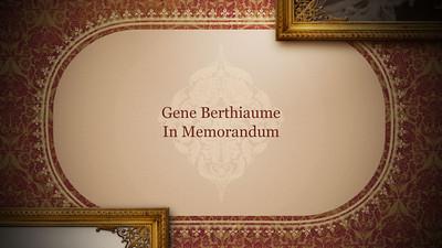 Gene Berthiaume Memorial