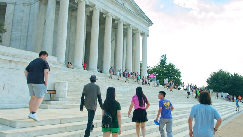 International Students in Washington DC B-Roll