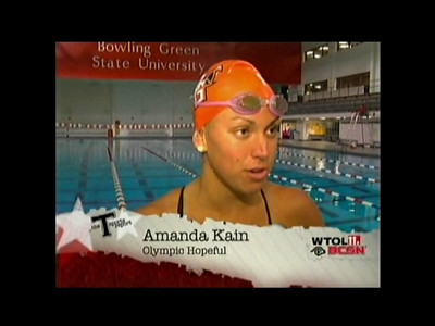 Swimmers Make Olympic Trials