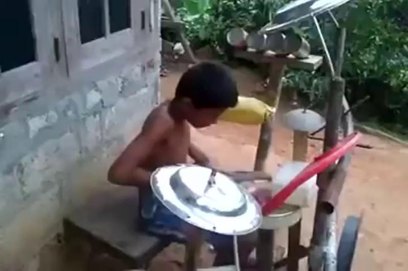 5 year boy best Drummer