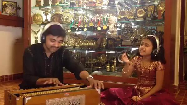 Ganesha Pancharathnam sung by 9 year old Soorya Gayathri