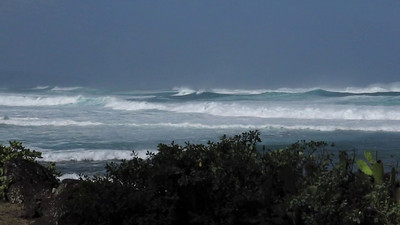 Waves Rolling Across the Sea to the North Shore of Oahu Hawaii  March 1, 2010   Music: Testify to Love by Uluwehi Guerrero
