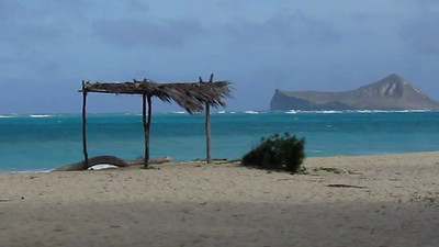 Waimanalo Beach on a Stormy Day