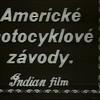"""Kinematografický záznam ing. Maříka, """"Otce Indiánů"""", který pořídil ve dvacátých letech na americké klopené oválné dráze"""