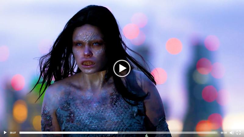 SYFY - Siren Mermaid Stunt