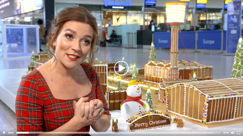 Heathrow - Gingerbread Airport