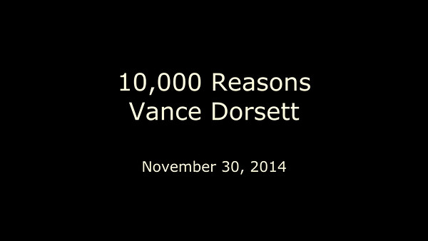 {video} 10,000 reasons