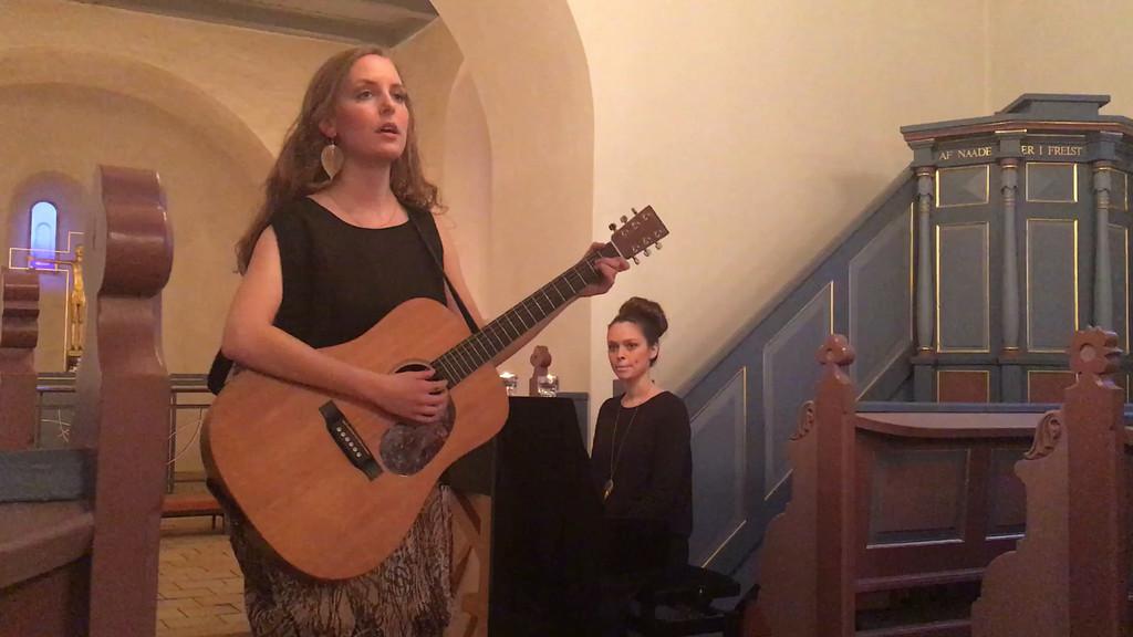 Vera og Sidsel<br /> Koncert i Mejlby Kirke<br /> 03.04.2016