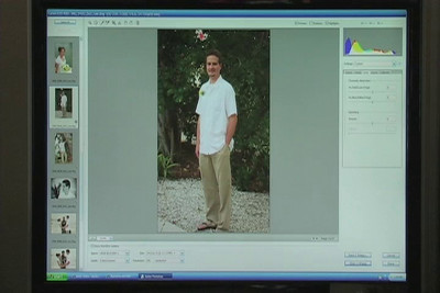 Custom Prints: This clip illustrates more advanced portrait editing that goes into a custom print.