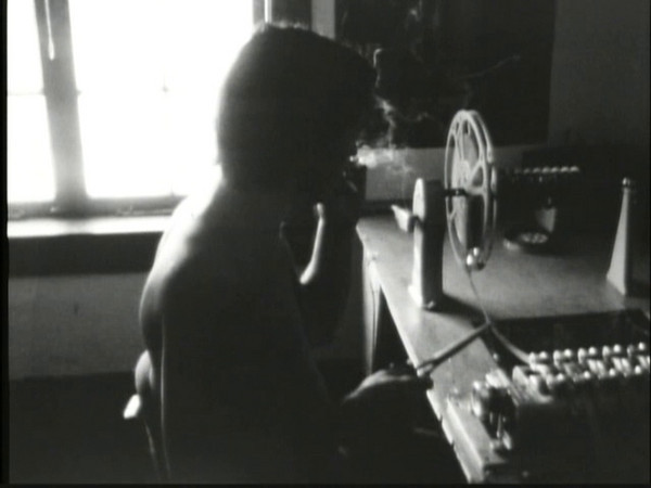 Me editing at 1942 NW Kearney St. in about 1971. (:30)