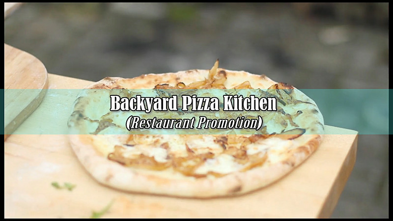 Backyard Pizza Kitchen (Restaurant Promo)