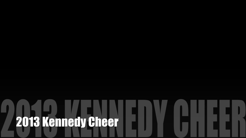 2011 Kennedy Cheer Banquet