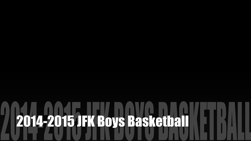 2014-2015 Boys Basketball