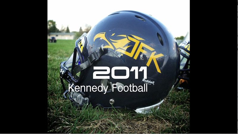 2011 Kennedy Football Banquet Video by Stratman