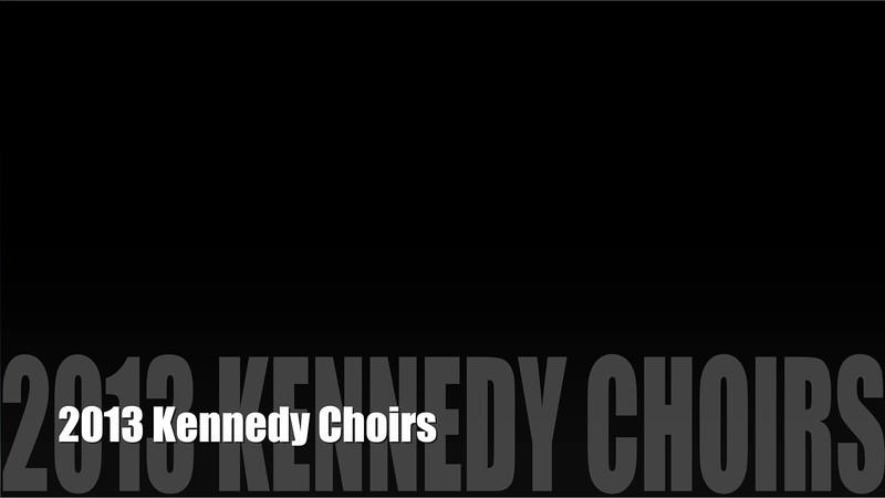 2013 Kennedy Choirs Banquet by Stratman