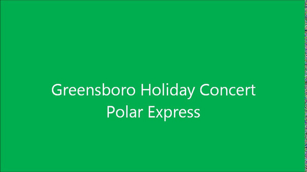 Holiday Show at Greensboro Coliseum - Polar Express  http://sillymonkeyphoto.com/2010/12/11/holiday-concerts-with-greensboro-symphony/