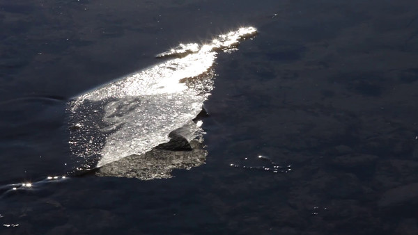 Isflak -  Close-up of ice floes