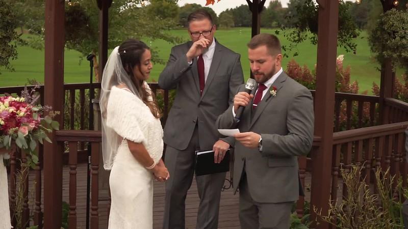 Will & Sarah's Wedding Vows