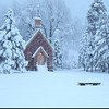 © Yosemite Chapel and Snow<br /> <br /> This video was taken on November 21.2010 at 6:49 am.<br /> <br /> An overnight storm left over 8 inches of fresh powder on the ground.<br /> <br /> The snow continued into the early morning hours as you see here...<br /> <br /> Yosemite is the best place to be just after a snow fall or better yet, just after a clearing storm.<br /> <br /> I could not resist this moment and had to capture the scene before me as it is a classic winter scene!<br /> <br /> © Copyright 2010 All Rights Reserved Jerry Gilligan